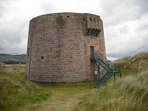 Magilligan - Image: Magilligan Martello Tower
