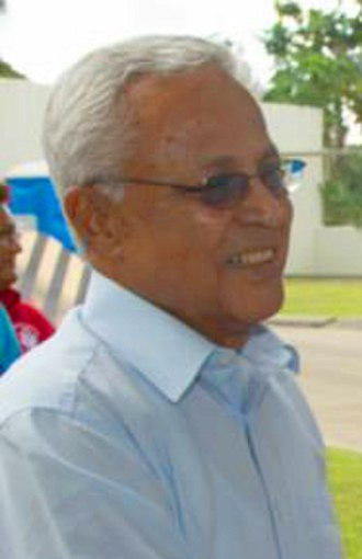 Mahendra Chaudhry - Chaudhry in 2015