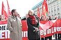 Mahnwache gegen die Militärintervention in Libyen am 20. März 2011 vor dem Brandenburger Tor in Berlin (1).jpg
