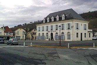 Gan, Pyrénées-Atlantiques - The town hall of Gan
