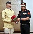 Maj Gen NS Rao Chandrababu Naidu.jpg