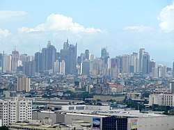 Makati Skyline as of June 2015.jpg
