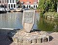 Makkum, monument voor de gebroeders van den Berg.JPG
