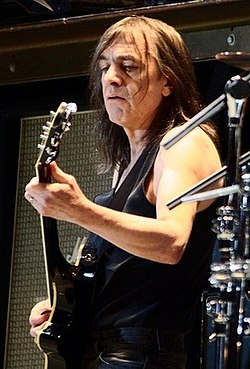Malcolm Young nel 2010