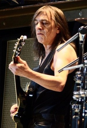Malcolm Young - Young in 2010