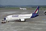 Malev - Hungarian Airlines Boeing 737-3Y0 HA-LED (26404783634).jpg