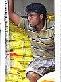 Man at Door of Goods Truck - Pettah District - Colombo - Sri Lanka (14014482992).jpg