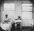 Man in hospital ward - NARA - 299590.tif