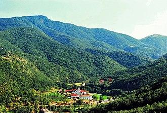 Kozjak (mountain) - Prohor Pčinjski at the slopes of the mountain
