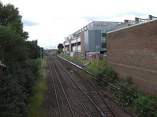 Manchester United Football Ground railway station