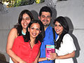 Manisha Ratnani, Rujuta Diwekar, Dabboo Ratnani, Zoa Morani at the success party of Rujuta Diwekar's book 03.jpg