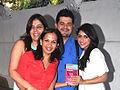 Manisha Ratnani, Rujuta Diwekar, Dabboo Ratnani, Zoa Morani at the success party of Rujuta Diwekar's book 03.jpg