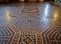 Mantova Palazzo Te Innen Camera di Amore e Psiche Fußboden.jpg
