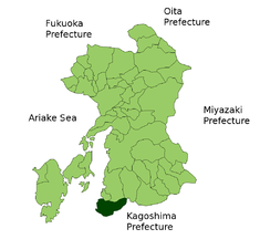 Location of Minamata