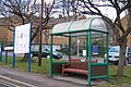 Map and Bus Stop, Northern General Hospital, Sheffield - geograph.org.uk - 1727683.jpg