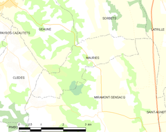Map commune FR insee code 40174.png