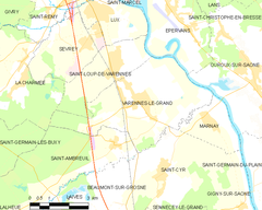 Map commune FR insee code 71555.png