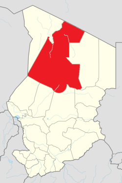 Faya-Largeau is located in Chad
