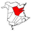 Map of New Brunswick highlighting Northumberland County 2.png