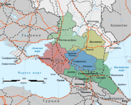 Map of North Caucasus (ru, Crimea disputed).png