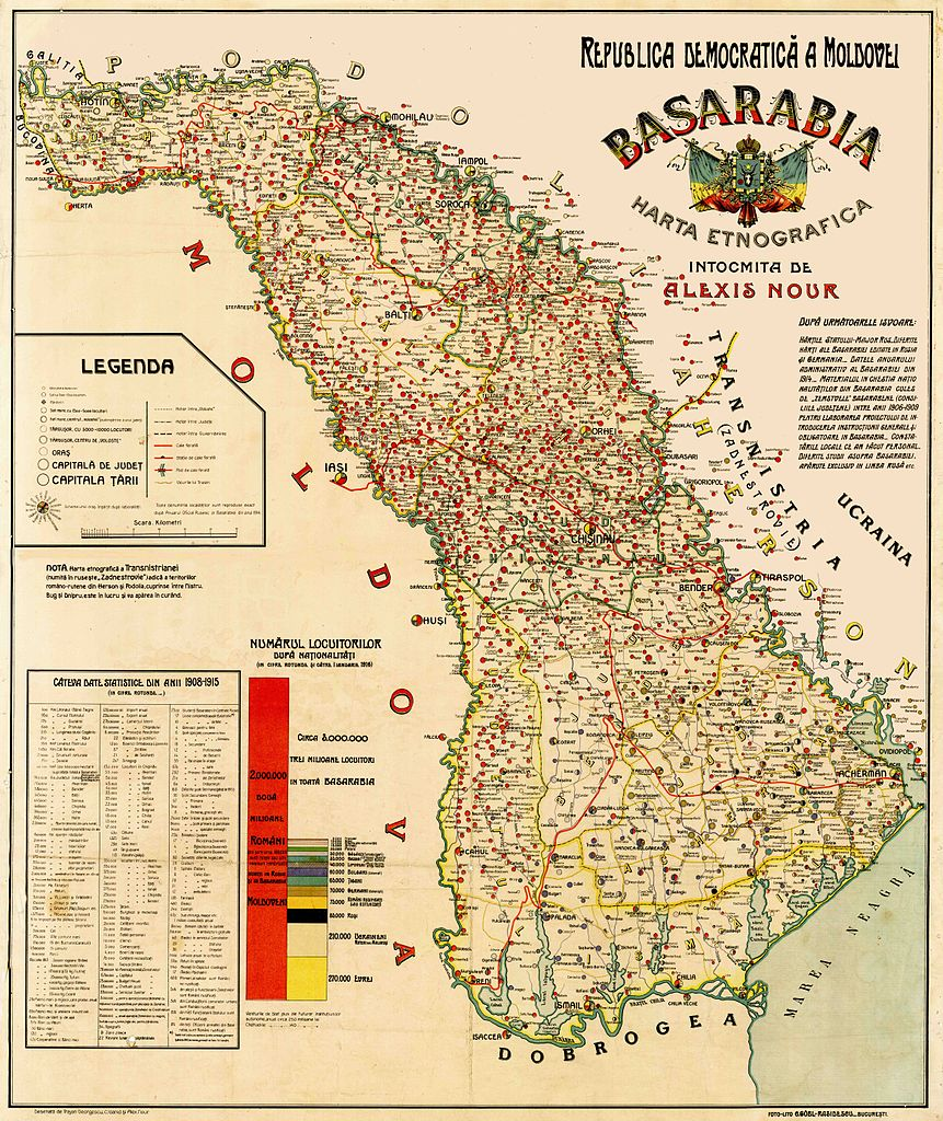 Imagini pentru basarabia 1918 map