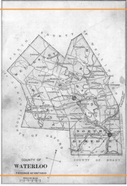 German map blank