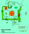 Map of the Mundo Perdido complex, Tikal.png