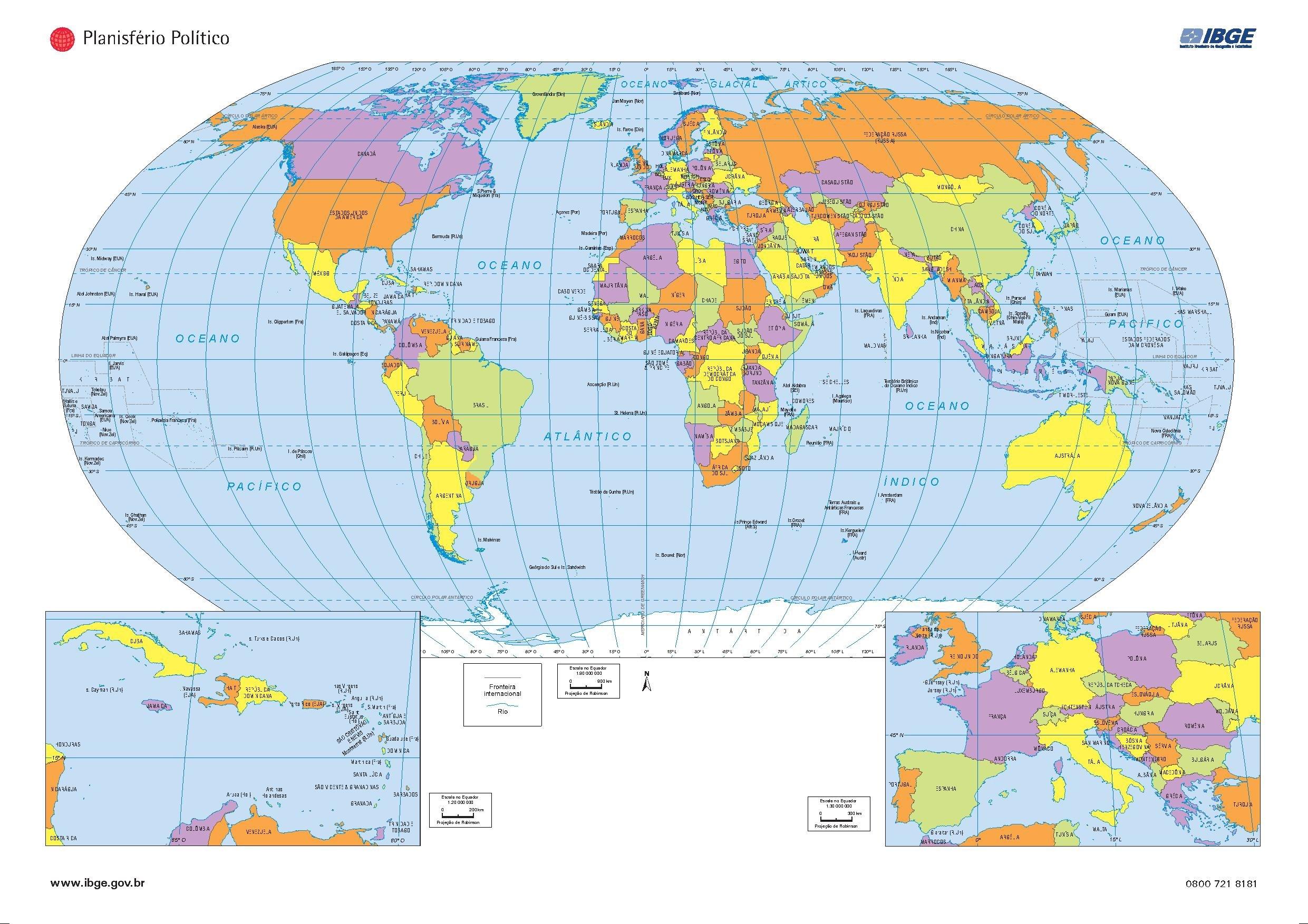 File Mapa Planisferio Politico Ibge Brasil Pdf Wikimedia Commons