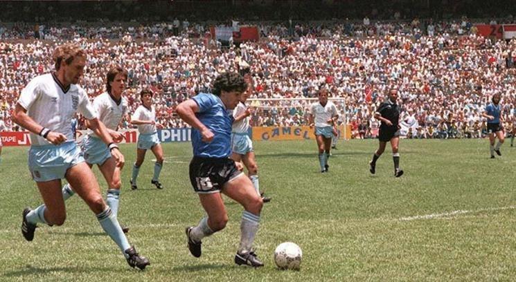Maradona gol a inglaterra