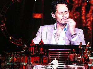 Marc Anthony in Selma, Texas on July 22, 2006 ...