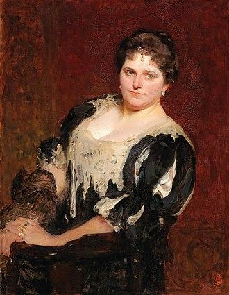 Solomon Joseph Solomon - Portrait of Blanche Marchesi