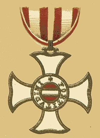 Military Order of Maria Theresa - badge of the Order of Maria Theresa