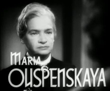 Marija Uspenskaja nel trailer del film Il ponte di Waterloo (1940)