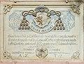 Maria Saal Bischofweg 1 Zollfelder-Kanonikatshaus Gedenktafel mit Wappen 19092016 4475.jpg