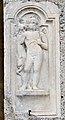 Maria Saal Propsteikirche SO-Wand Grabrelief Trauergenius 06012014 044.jpg