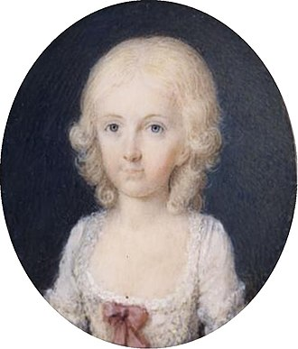 Maria Theresa of Naples and Sicily - Maria Theresa of Naples as a young child