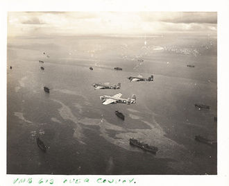 Marshall Islands - Shipping Lane Patrol Kwajalein Island (Marshall Islands-April 1945)