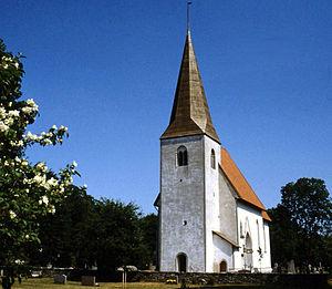 Martebo Church - Image: Martebo 001