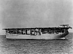 Martin MO-1 landing aboard USS Langley (CV-1) in the 1920s (NH 63546).jpg