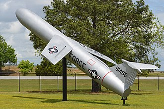 MGM-13 Mace - Mace at Warner Robins Museum of Aviation, Georgia