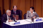 Mary Bono hosts a public health care forum with Health Subcommittee Chairman Michael Bilirakis.png
