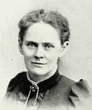 Mary Emilie Holmes - Image: Mary Emilie Holmes ca 1893