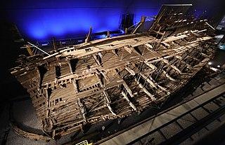 <i>Mary Rose</i> Carrack-type warship of the English Tudor navy