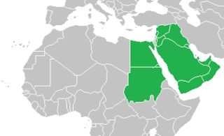 The Eastern part of the Arab world