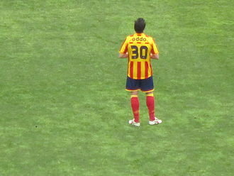Massimo Oddo - Oddo playing for U.S. Lecce in April 2012