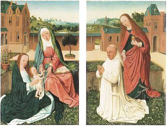 Herzog Anton Ulrich Museum - Image: Master of the Brunswick Diptych Diptych opened