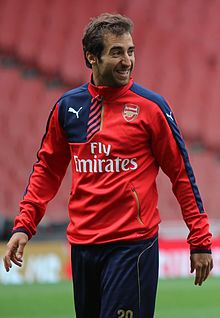Mathieu Flamini Arsenal Members' Day 2015 (19929864949).jpg