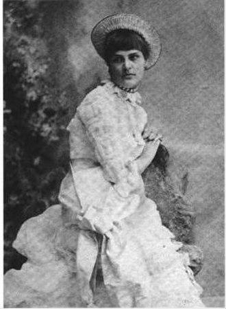 Maud Gage Baum - Maud's wedding picture in November 1882