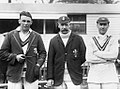 Maurice Tate, Tom Hayward and Jack Hobbs 1926.jpg