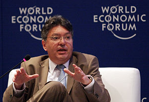 Minister Cárdenas at the World Economic Forum in 2010